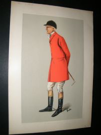 Vanity Fair Print 1906 Edgar Lubbock, Fox Hunter